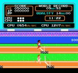 Track & Field NES Crossing the finish line