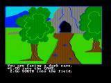 Troll's Tale PC Booter Starting a new game (CGA with composite monitor)