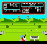 Track & Field NES Shot a target