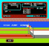 Track & Field NES High jump