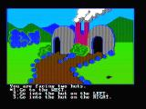 Troll's Tale PC Booter You are facing some huts (CGA with composite monitor)