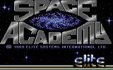 Space Academy Commodore 64 Title screen