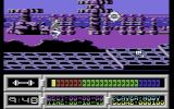 Space Academy Commodore 64 Beginning weapons training, you can only jump and shoot