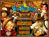Wild West Quest Windows Main menu