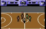 Magic Johnson's Fast Break Commodore 64 Beginning a game