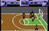 Magic Johnson's Fast Break Commodore 64 Score!