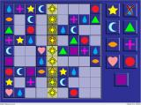 "Sudoku Crunch for Kids! Windows With ""simple hint"" selected, the player is shown where he should begin"