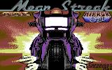 Mean Streak Commodore 64 Title screen