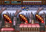 Rocket Knight Adventures Genesis Side-scrolling Stage
