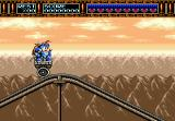 Rocket Knight Adventures Genesis You can't have a side-scroller without a mine cart stage.