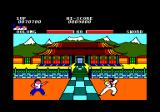 Yie Ar Kung-Fu Amstrad CPC Meet Sword and his fearful... er... sabre.