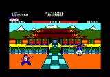 Yie Ar Kung-Fu Amstrad CPC The final match: Oolong VS. Blues