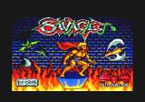 Savage Amstrad CPC Title screen
