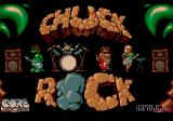 Chuck Rock SEGA CD Title Screen