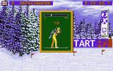 Winter Olympics: Lillehammer '94 DOS The first part is the skiing one where you must ski at a steady pace.