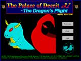 The Palace of Deceit: The Dragon's Plight Windows 3.x Title screen