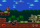 Chuck Rock SEGA CD First Level Boss Dino