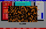 Maze Mission Adventure Game DOS The map-enlarger power-up in effect