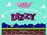 The Fantastic Adventures of Dizzy NES Title screen