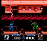 Batman: Return of the Joker NES Batman receives power to fight the first boss.