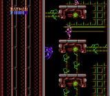 Batman: The Video Game NES Stage 2-2: Batman uses his wall jump to climb his way through the factory.