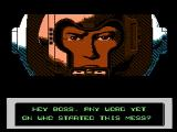 The Mutant Virus NES The story unfolds between levels