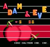 6-in-1 NES Adam & Eve title screen