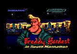 Freddy Hardest in South Manhattan Amstrad CPC Loading screen