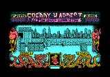 Freddy Hardest in South Manhattan Amstrad CPC Starting location