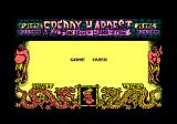 Freddy Hardest in South Manhattan Amstrad CPC I lost all my lives. Game over.