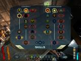 Space Siege Windows The two skill trees.