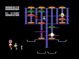 BurgerTime PC Booter The second level (CGA with composite monitor)