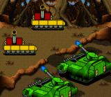 War 2410 SNES Attacking a heavy tank