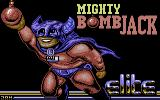Mighty Bombjack Commodore 64 Loading screen