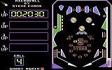 Microball Commodore 64 A game in progress