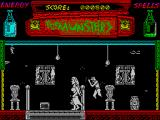 The Munsters ZX Spectrum Look out!