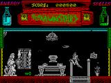 The Munsters ZX Spectrum Get the key