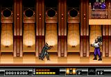 Batman: The Video Game Genesis The last boss at Flugelheim Museum. The Joker holds Vick Vale while Batman deals with one of his thugs.