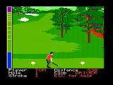 Mean 18 DOS Teeing off (CGA with composite monitor)