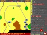 Russian Front II: The Kursk Campaign DOS Moving troops in the Battle of Minsk (computer vs. computer mode, aka demo).