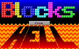 Blocks from Hell DOS Title screen