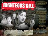 Righteous Kill Windows Main menu