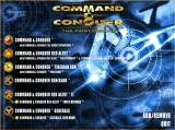 Command & Conquer: The First Decade Windows Menu screen