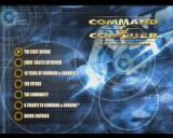 Command & Conquer: The First Decade Windows Bonus DVD menu