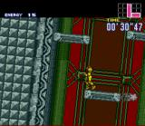 Super Metroid SNES The station is collapsing -- hurry!