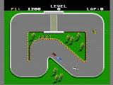 Super Sprint NES The first race