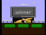 Super Sprint NES The winner of the race