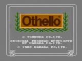 Othello NES Title screen