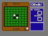 Othello NES The game starts with four pieces on the board