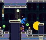 Mega Man X2 SNES The Central Computer: If you get into the searchlight, robots start attacking